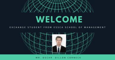 Welcome Exchange Student – 2019