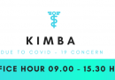 KIMBA Office Hour due to COVID-19