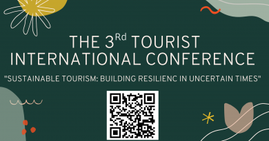 The 3rd TOURIST International Conference